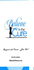 Believe in the Cure